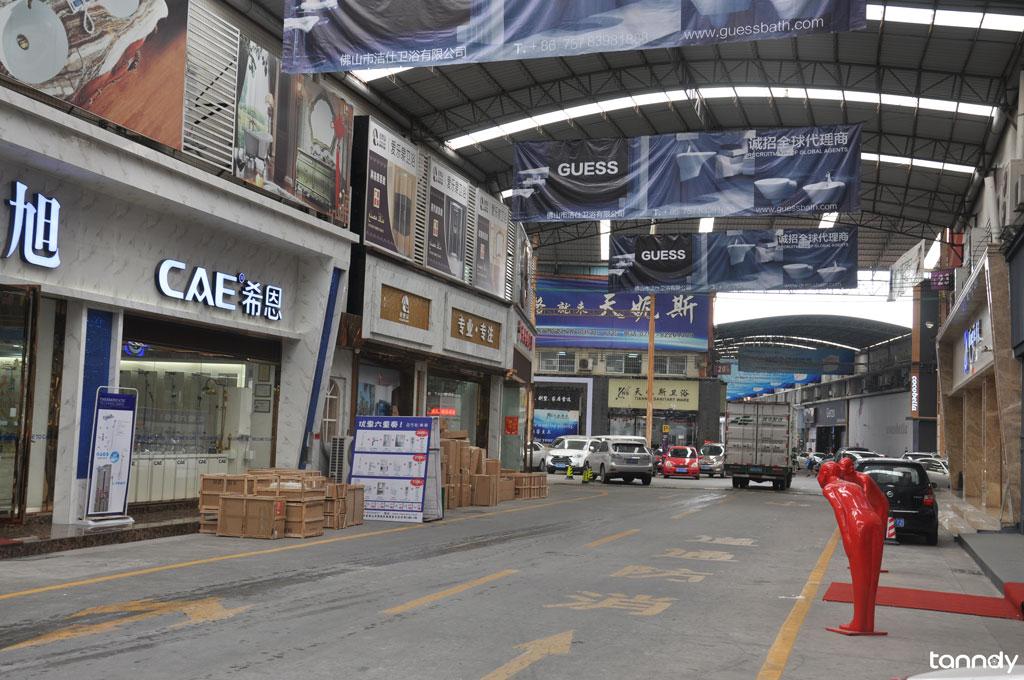 Foshan Sanitary market