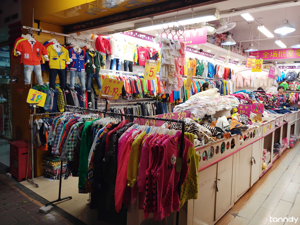 Shop-in-Children-clothing-market