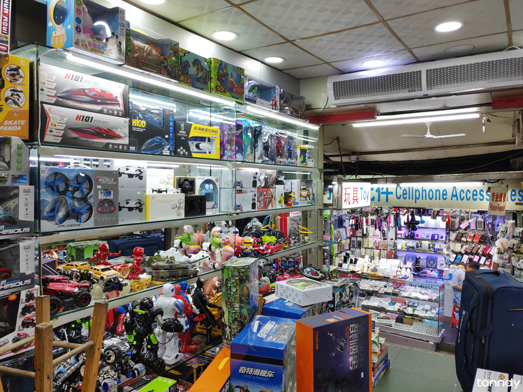 Toy shop in toy wholesale market