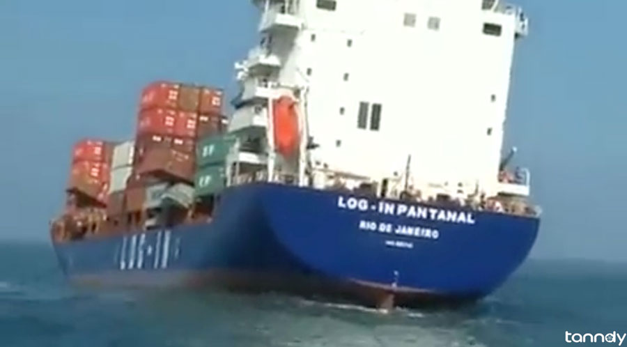 Container-ship-lost-45-containers-1