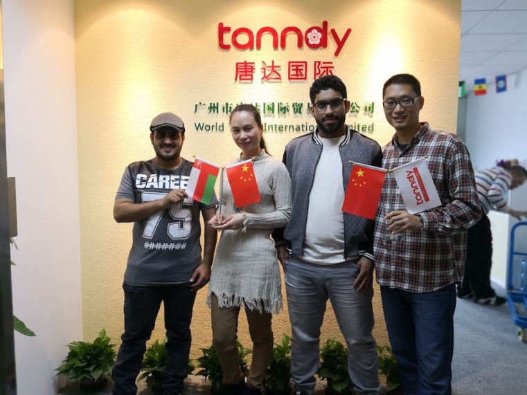 Client from Oman visit Tanndy Ltd