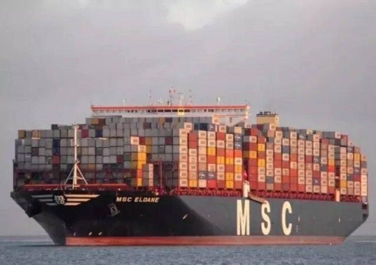 The Accident ship - MSC ELOANE