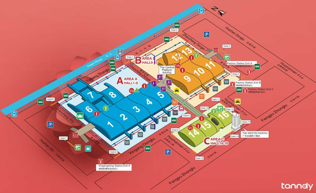 Canton Fair Complex Layout