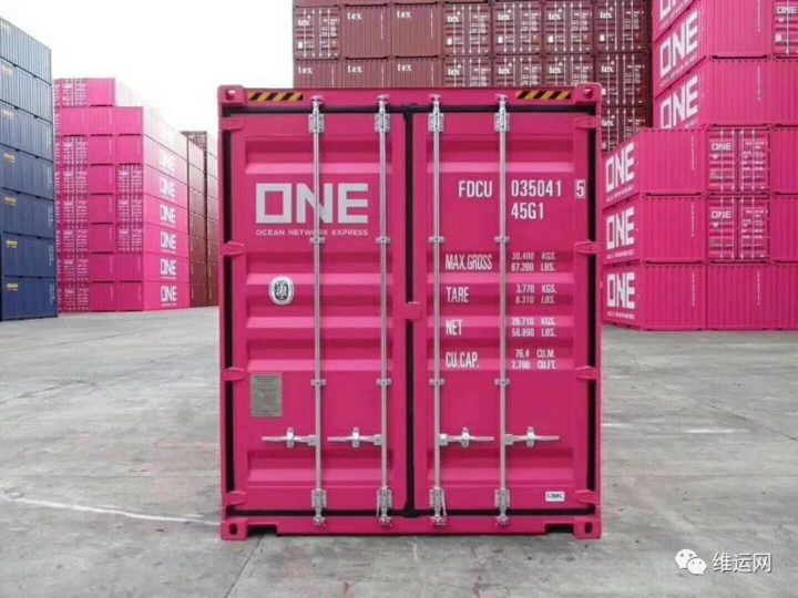 one-pink-container