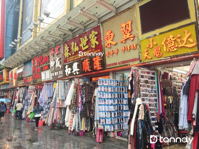 Guangzhou Zhongda Fabric Market Tanndy