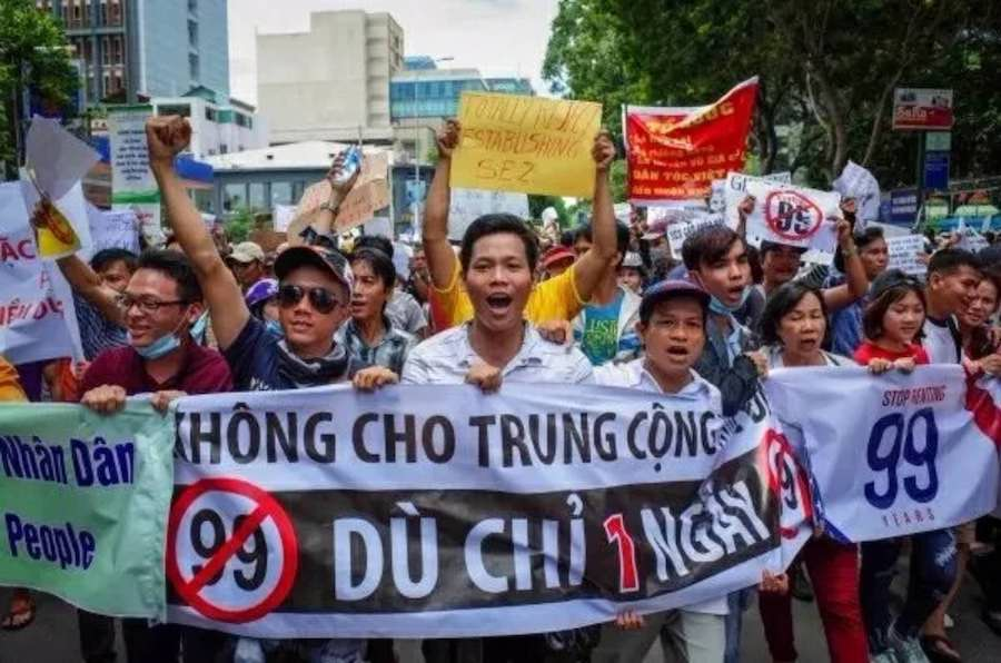 Vietnam Anti Chinese