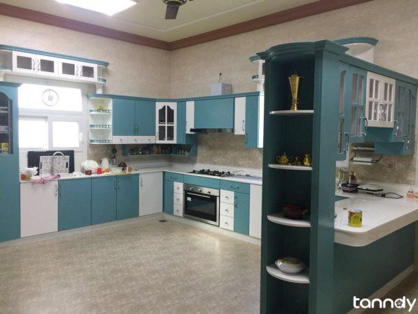 dark-green-modern-kitchen