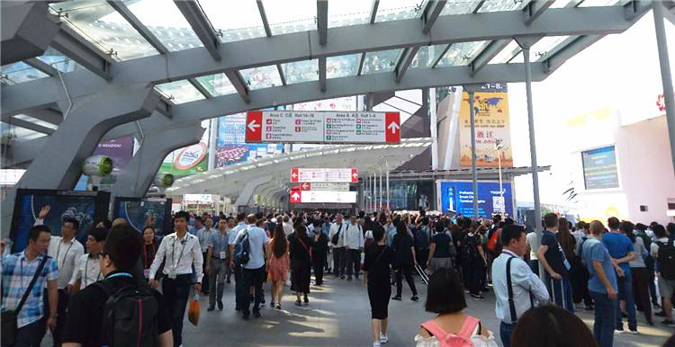 Canton Fair visitors
