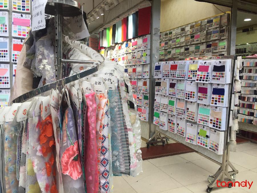 Buying-fabrics