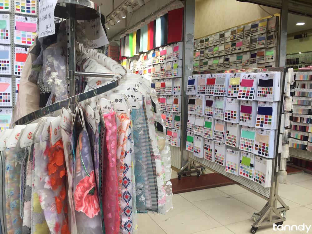 fabric in zhongda-fabric-wholesale-market