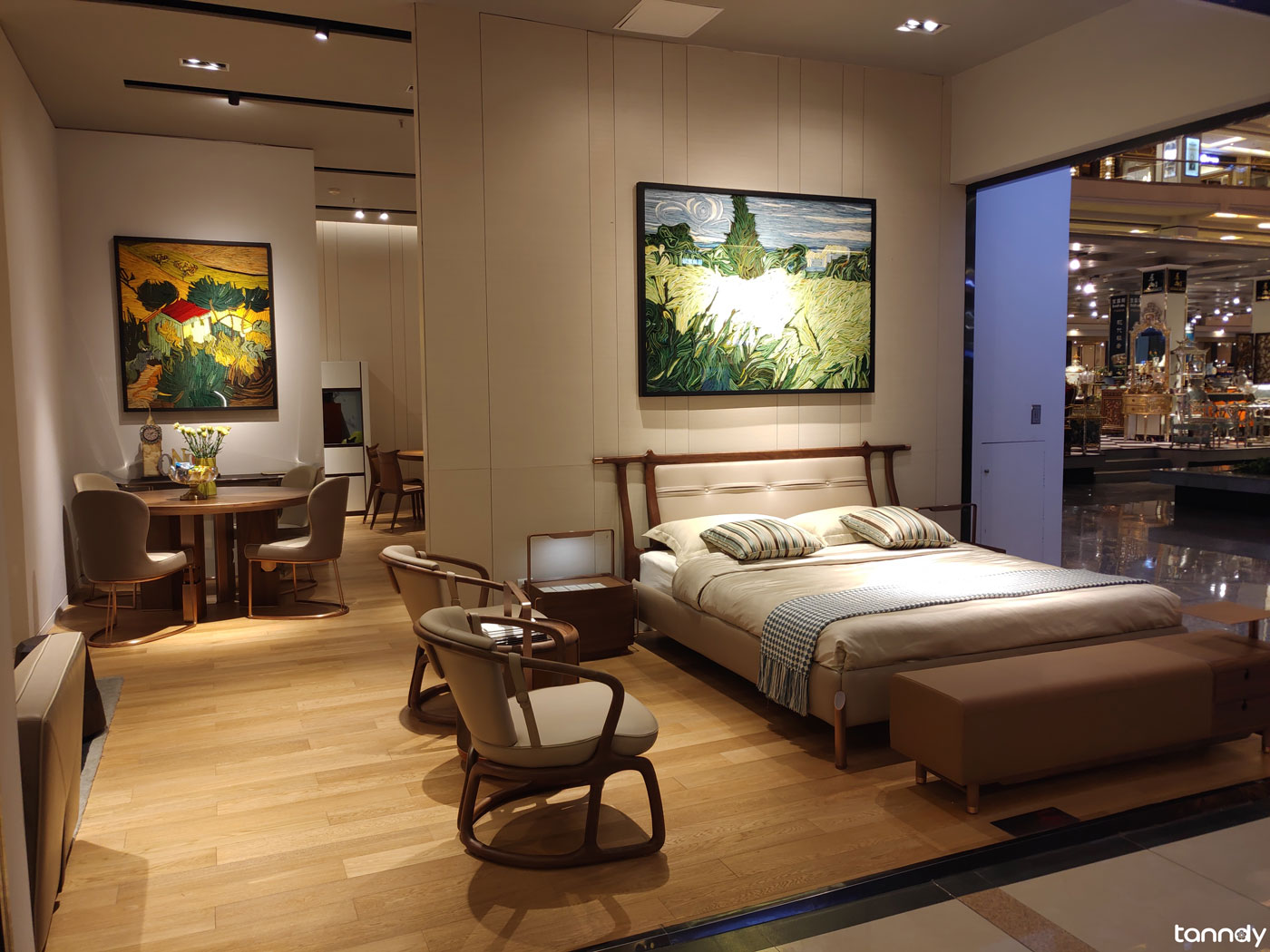 Furniture shop in Foshan Louvre furniture market
