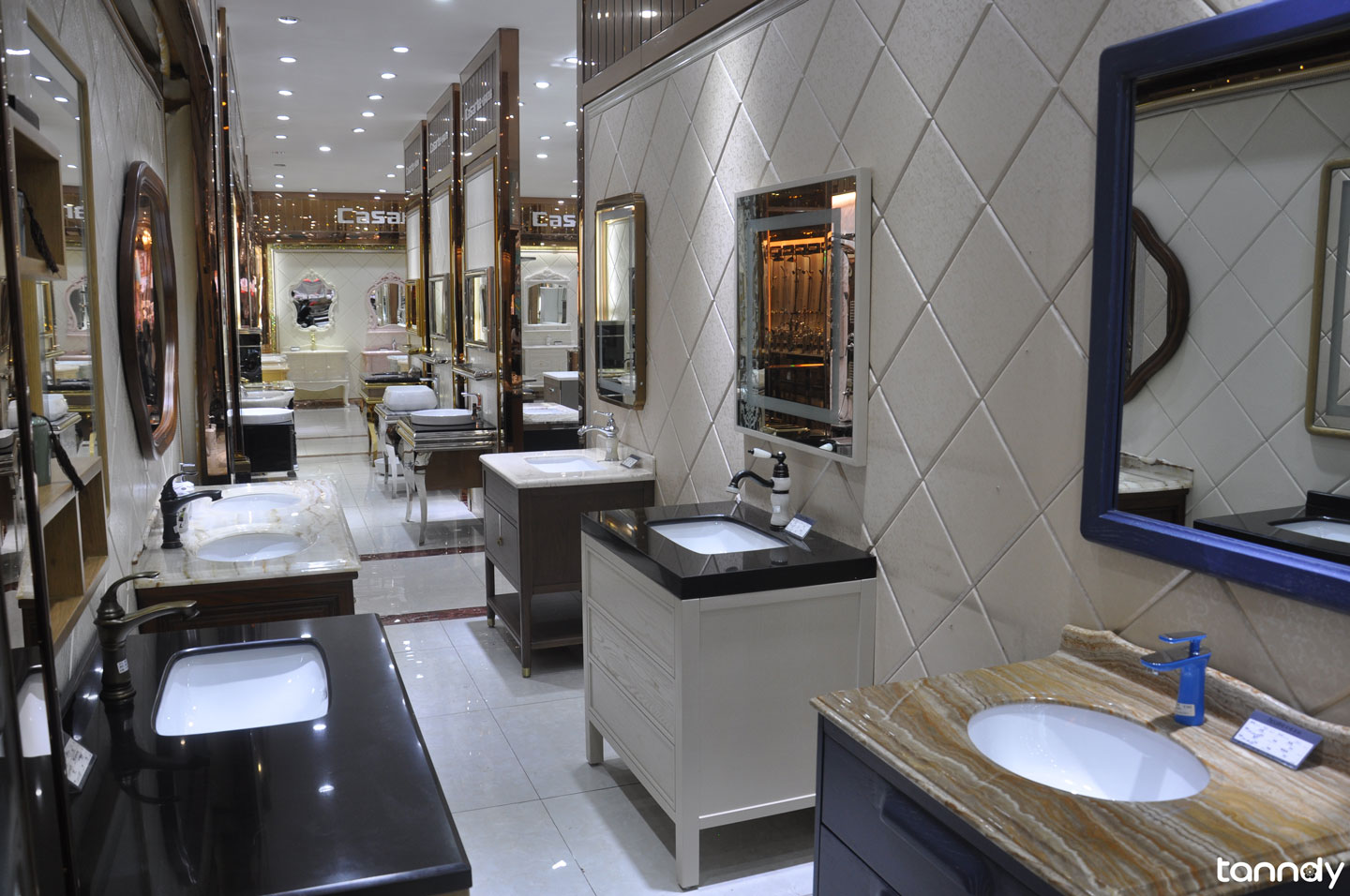 Foshan-Sanitary-market-bathroom-cabinet-showroom
