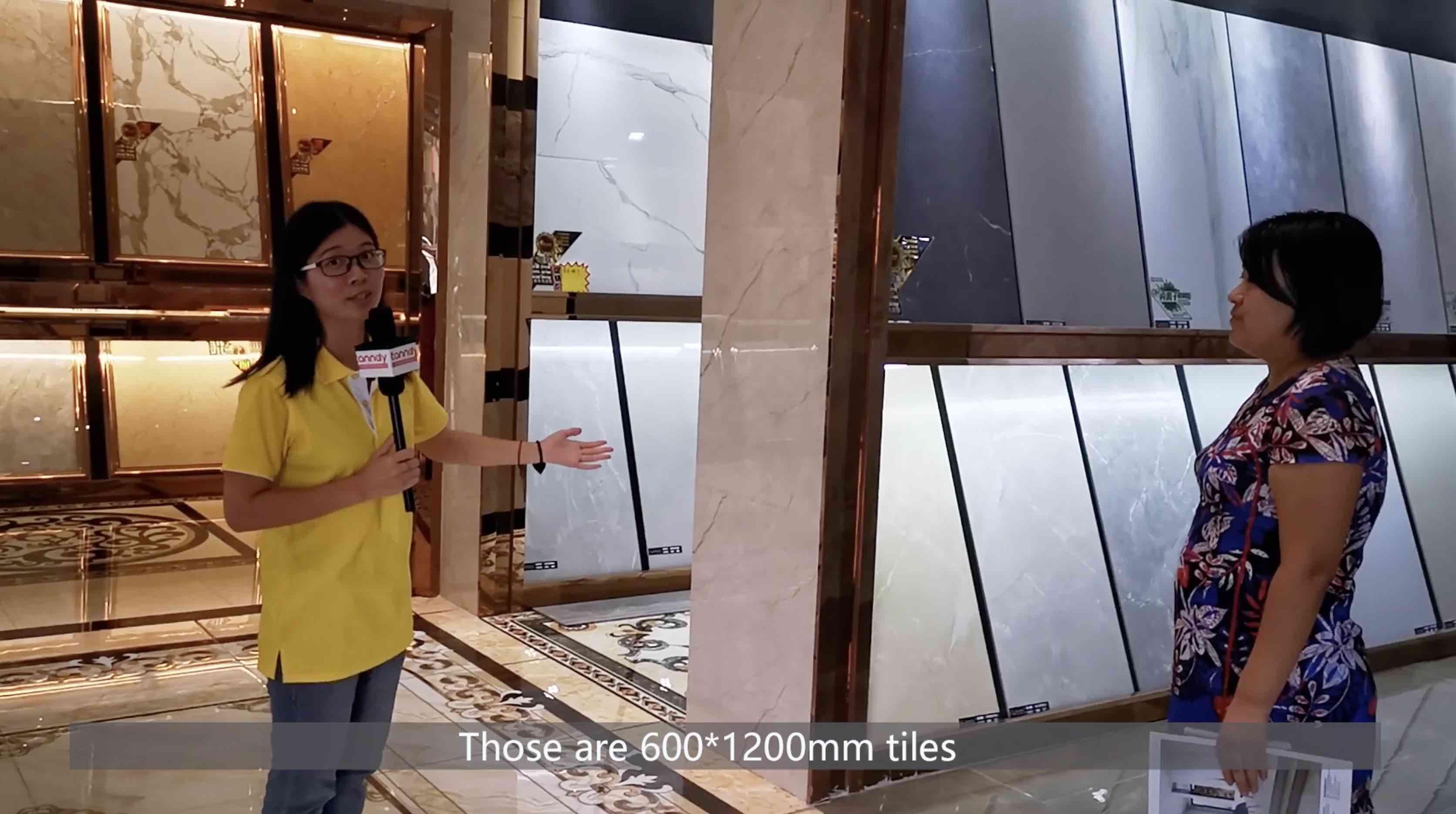 600x1200mm marble Floor tiles