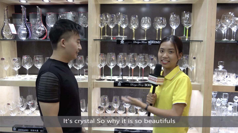 Beautiful Crystal wine cup