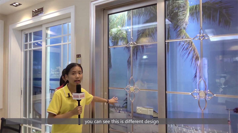 Different design sliding door