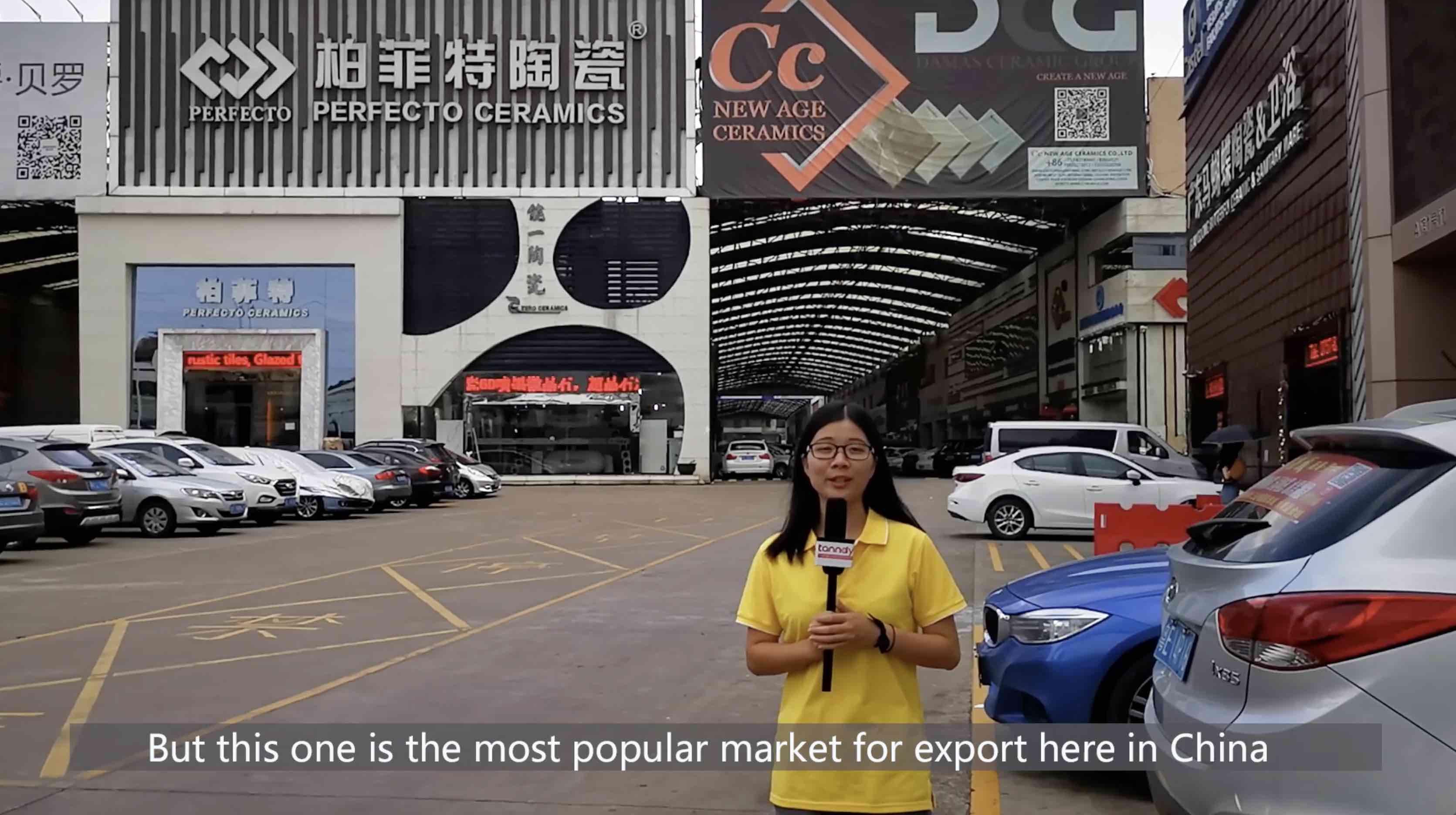 Visit foshan tiles market