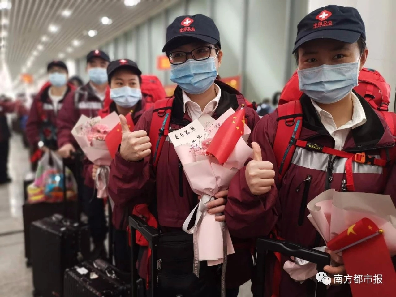 doctors & nurses are coming back from Wuhan