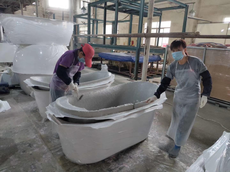 Bathtub sanitary ware factory