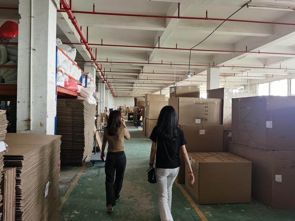Visiting Furniture Factory in Foshan China